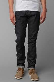 UrbanOutfitters > Unbranded Indigo Tapered Selvedge Denim Jean