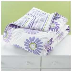 Girls Bedding: Girls Purple Daisy Reversible Bedding: Home & Kitchen