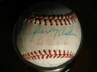 1976 CINCINNATI REDS WORLD CHAMPIONS TEAM SIGNED BASEBALL