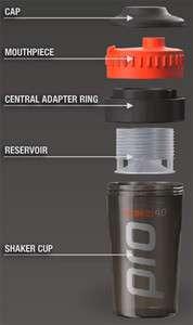 Best Gym Protein Gainer Milk Shaker BPA Free Bottle Cap