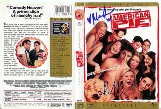 Mena Suvari/J Cho Autographed American Pie DVD Cover |