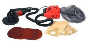 Hand held Electric Drywall Sander dust free heavy duty