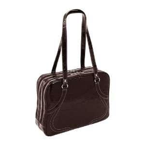 Siamod Roma Leather 15.4 Laptop Tote   Chocolate