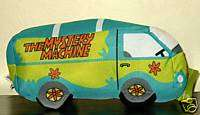12 PLUSH SCOOBY DOO MYSTERY MACHINE