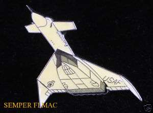 AUTHENTIC XB 70 VALKYRIE NASA US AIR FORCE HAT PIN