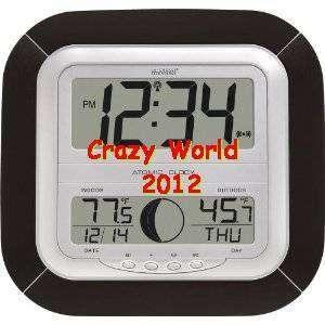 NEW La Crosse Technology Atomic Digital Wall Clock