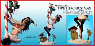 TWISTED XMAS MRS SANTA CLAUS MCFARLANE ACTION FIGURES