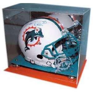 NFL Team Colors Football Helmet Display Case Sports