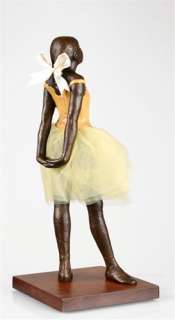 Edgar Degas Little Dancer Art Statue Figurine Sculpture