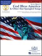 God Bless America Clarinet Solo Sheet Music Book CD NEW