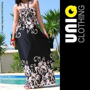 UNIQ UK Womens MAXI DRESS Maxi Dress/Long/Boho/Summer/Hippie