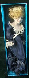Princess Lady Diana Porcelain Doll Figurine   London Antiques