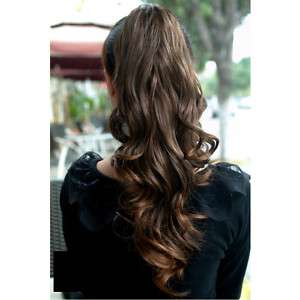 Curly Ponytail Hairpiece Pony Soft Hair Piece Wigs NEW Fashion