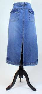 Misses 16 / French Cuff Jean Skirt (J452)