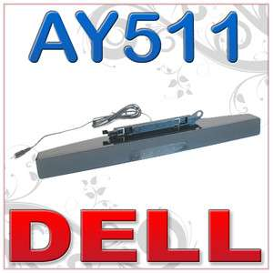 Dell AY511 SoundBar Virtual Surround Speaker Y260N G380T