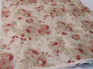 YARDS THICK DECORATOR FABRIC~ROSES~Shabby~Cottage~Chic~French