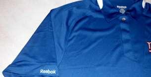 New York Giants Sideline Polo Shirt Small Reebok NFL