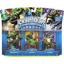 Skylanders Spyros Adventure Character 3 Pack   Boomer/Prism Break