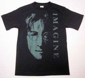 John Lennon Imagine T shirt Beatles Rock Tee SzLg New