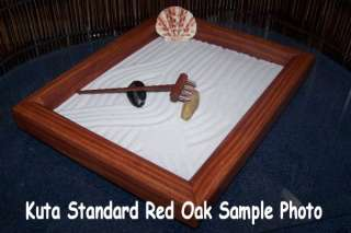 Zen Garden Feng Shui Buddha River and Bridge Red Oak