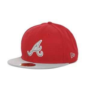 Atlanta Braves New Era MLB 2T Custom 59FIFTY Cap  Sports