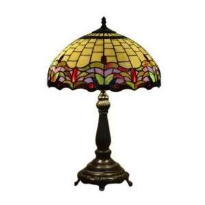 Tiffany style Colorful Table Lamp