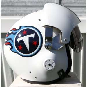 Tennessee Titans Fighter Pilot Helmet   NFL Football USAF