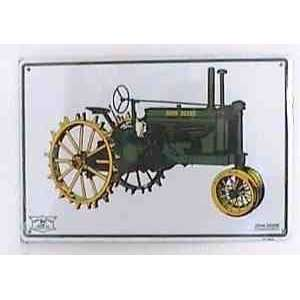 John Deere Tractor Tin Sign JD PS30042: Toys & Games