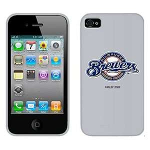Milwaukee Brewers on AT&T iPhone 4 Case by Coveroo