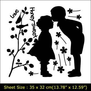 LOVE GIRL&BOY Vinyl Wall Art Deco Sticker Decal GS817