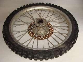 1987 Kawasaki KDX200 Front Wheel Tire Rim   Image 02