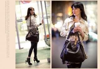 Women Genuine Leather Shoulder Handbag Tote Satchel BAG