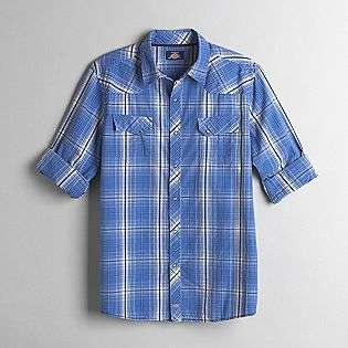 Young Mens Long Sleeve Western Style Shirt  Dickies Clothing Young