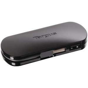 New TARGUS ACH111US 4 PORT MOBILE USB HUB   TARGACH111US