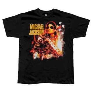 Michael Jackson   Stars & Glitter T Shirt