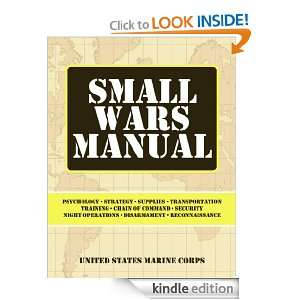 Small Wars Manual The United States Marine Corps  Kindle