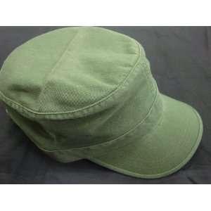 Bdu Style Adjustable Washed Gi Cap Hat olive Green