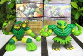 Rare Gormiti Titanium Serie Giochi Figures toy 2pc new