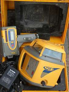 SPECTRA PRECISION TRIMBLE LL600 ROTATING LASER LEVEL LONG RANGE