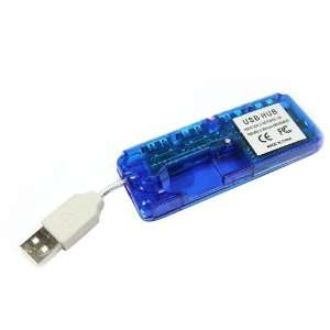 4 Port Mini USB HUB High Speed 480 Mbps PC Slim Electronics