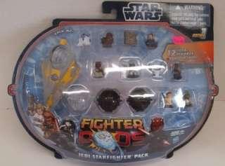 Star Wars Fighter Pods JEDI STARFIGHTER 12 Pack   2 Exclusive Figures