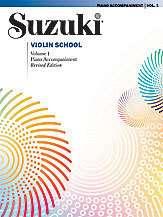 Suzuki Violin School Piano Acc., Volume 1, Book, NEW