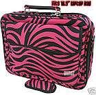 Pink White Black Zebra Print Laptop Bag Dell Computer