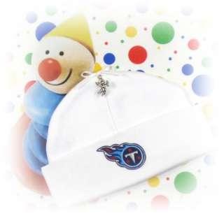 TENNESSEE TITANS Newborn Baby Beanie Hat FOOTBALL CHARM