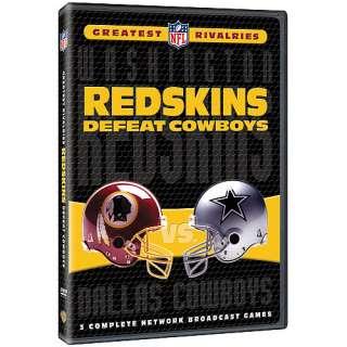 Warner Brothers Washington Redskins NFL Greatest Rivalries Redskins