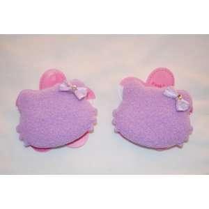 Lavender, Hello Kitty Barette Set, Hair Accessory for Girls, 2pc