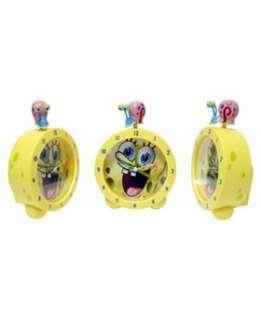 Spongebob Squarepants Topper Alarm Clock   Boots