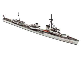 Revell Model Kit   German destroyer Z 38 warship 1936 Narvik Class