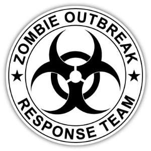 Zombie Outbreak Response Team Vinyl Car Bumper Sticker