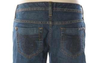 SEVEN 7 Low Rise Dark Stretch Denim Flare Jeans 28